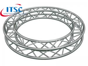 plated silver truss