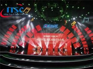 10m Stage Lighting Box Truss Dome Roof Structure -ITSC पुलिंदा